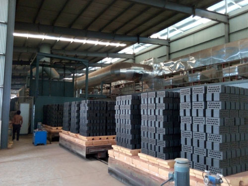 Brick production line
