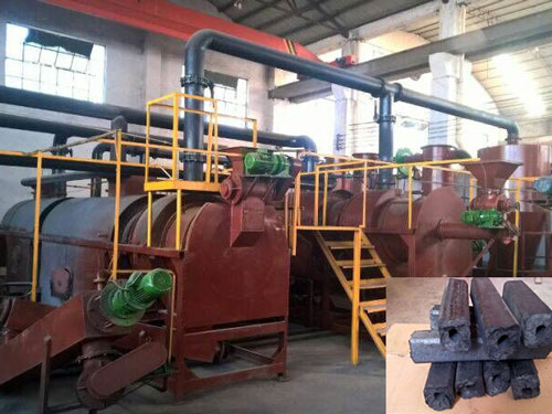 Carbonization machine