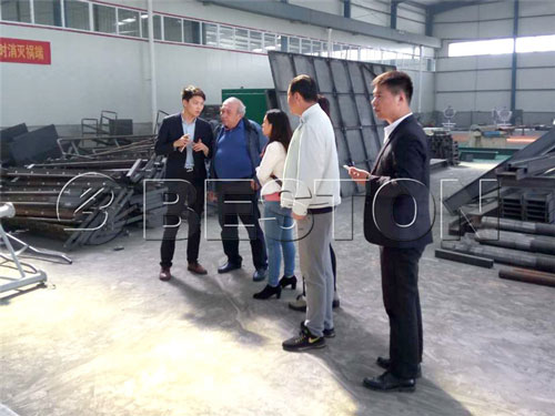Customized solid waste sorting plant
