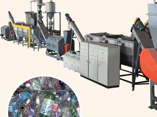 PET fibers production line