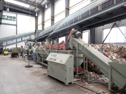 Solid Waste Treatment Plant Municipal Solid Waste