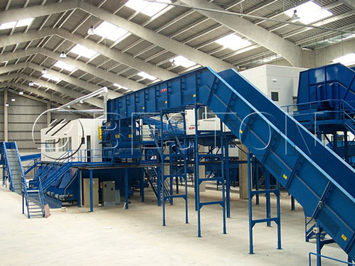 solid waste separation equipment