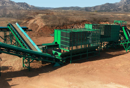 Large-Scale Solid Waste Treatment Equipment