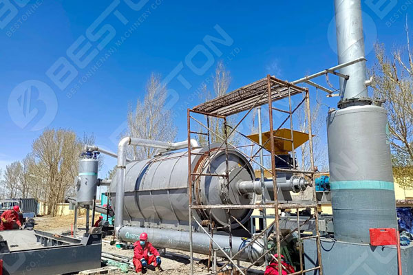 Beston Tyre Pyrolysis Plant for Sale